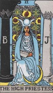 女教皇・The High Priestess