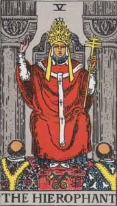 教皇・The Hierophant