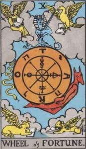 運命の輪・Wheel of Fortune