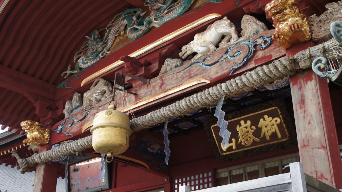 都心から離れていますが、れっきとした都内です。『武蔵御嶽神社』のイメージ