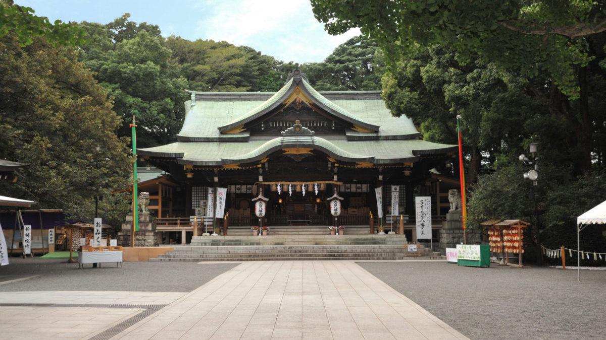 かの有名な「東京のへそ」:大宮八幡宮(杉並区)のイメージ