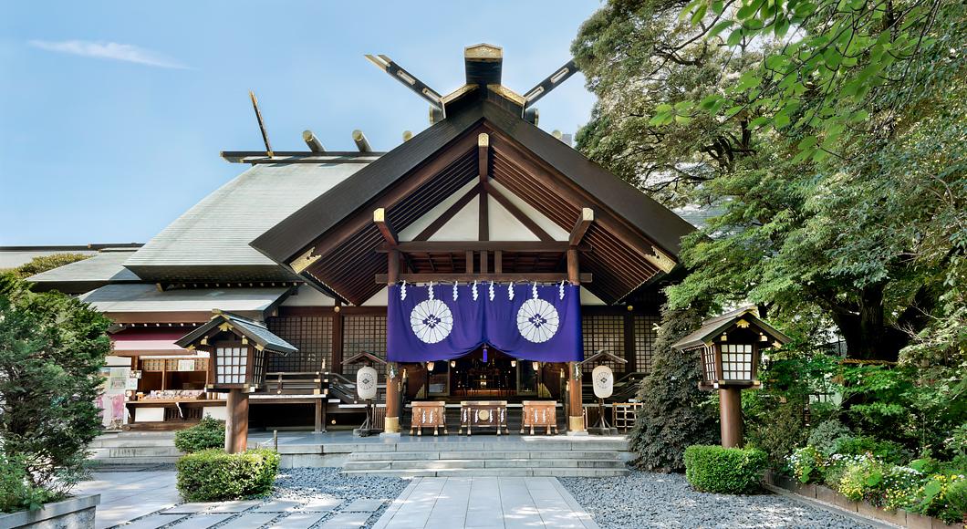 東京大神宮で縁結び祈願