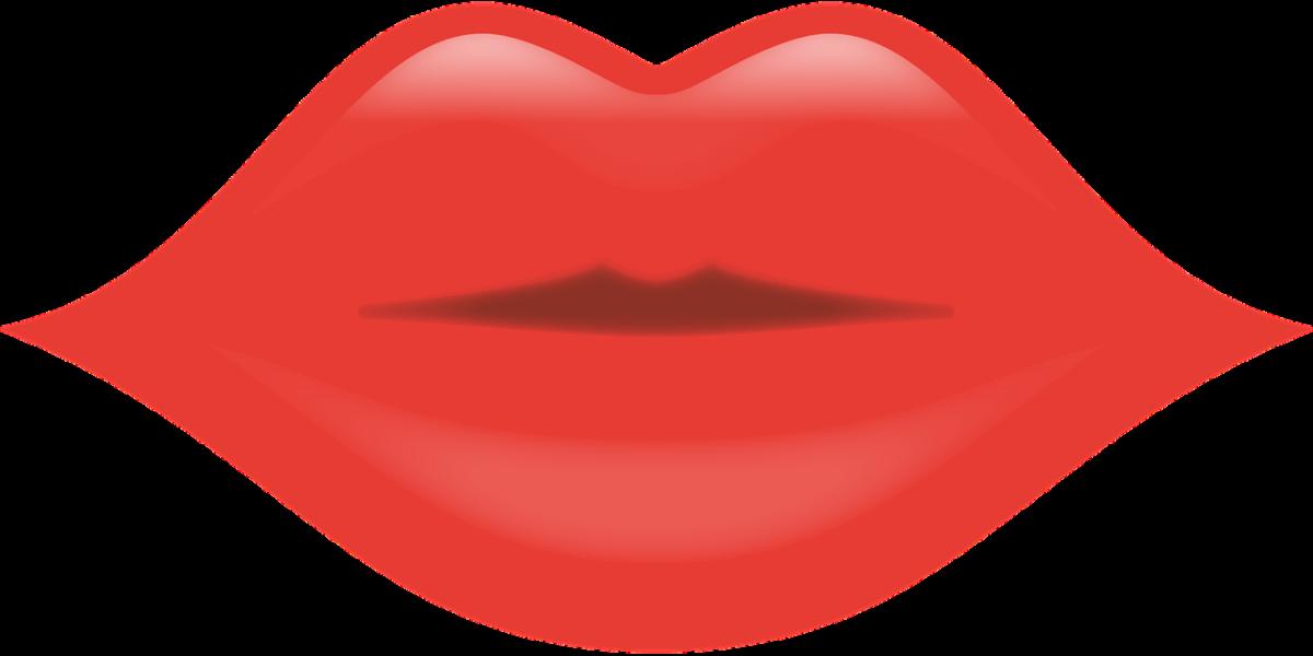 唇にあるぼくろの位置によって異なる運命と性格のイメージ