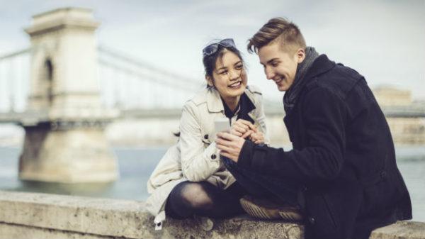 屋外デートのイメージ