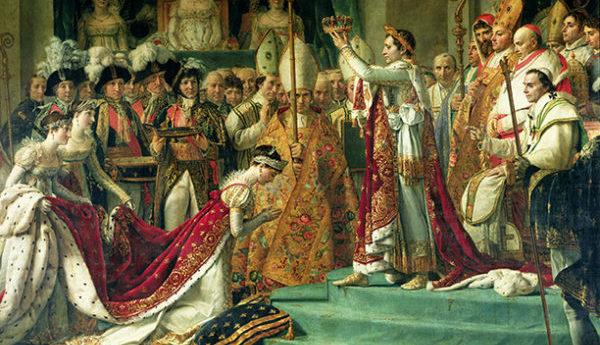 ジョセフィーヌとナポレオンのイメージ