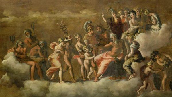 ギリシャ神話のイメージ