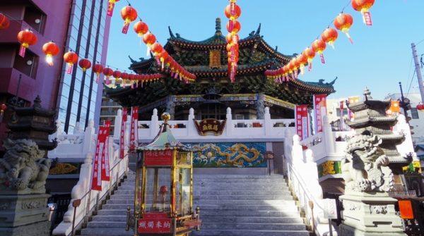 横浜のパワースポット横浜媽祖廟のイメージ