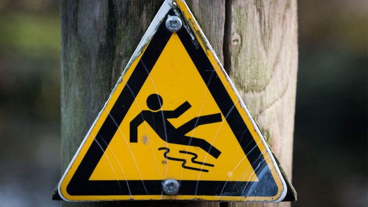 警告のイメージ