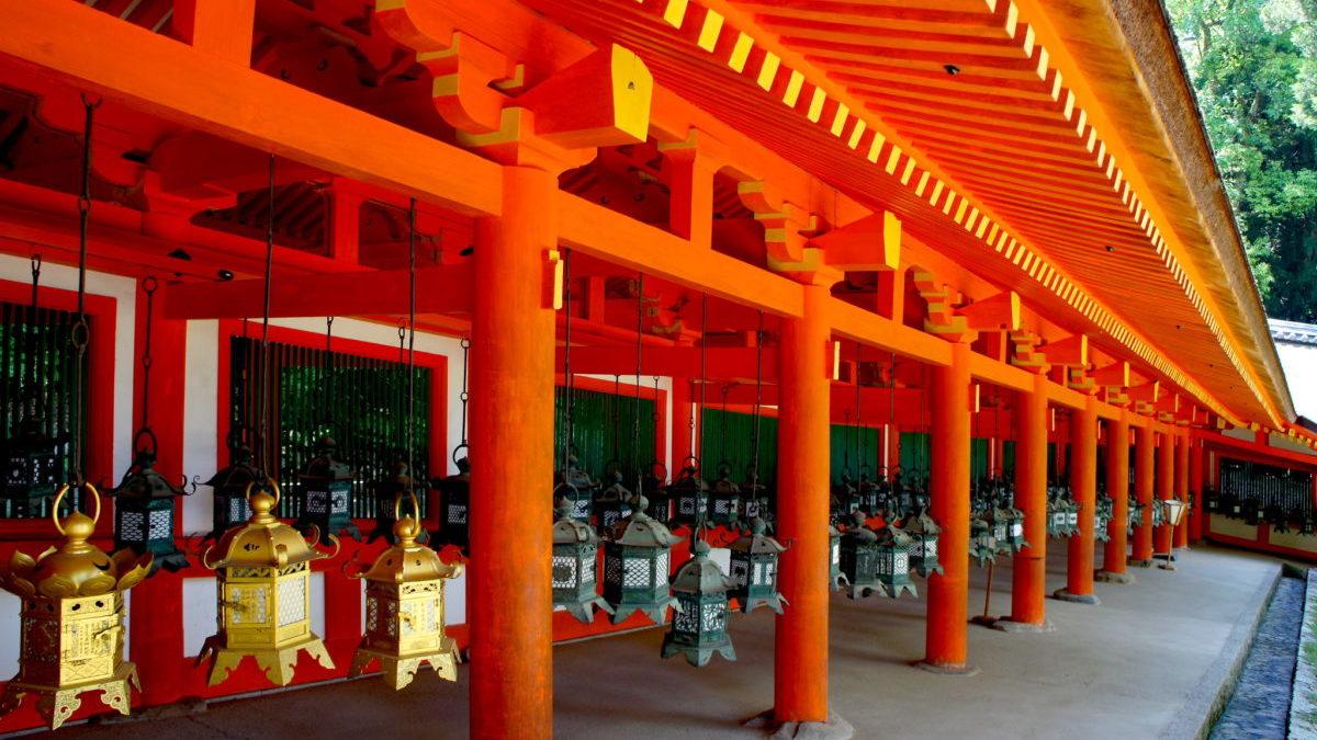 奈良の定番パワースポット春日大社のイメージ