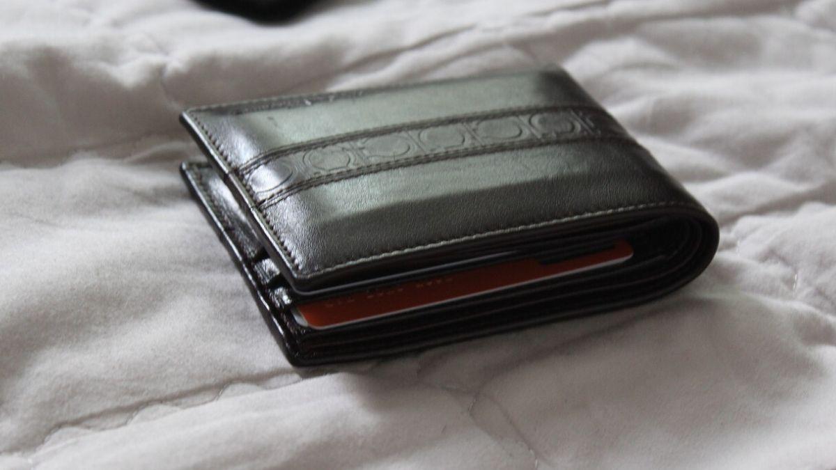 財布を置き去りにするイメージ