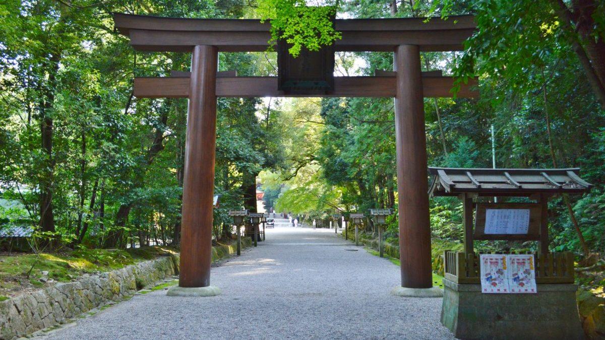 日本最古の神宮の一つ石上神宮で健康祈願をのイメージ