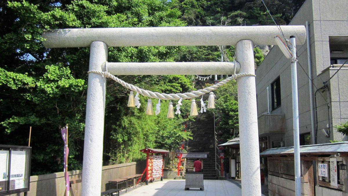 無病息災や縁結びの御利益がある、遠見岬神社(とみさきじんじゃ)のイメージ