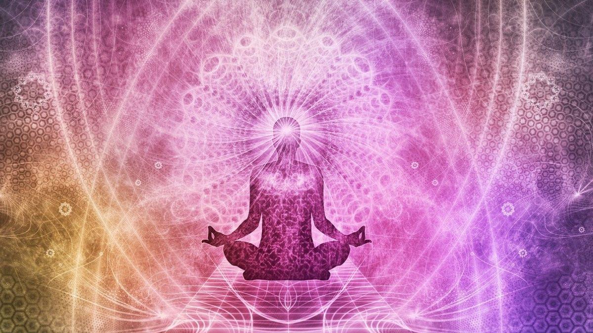 一般的な瞑想のイメージ