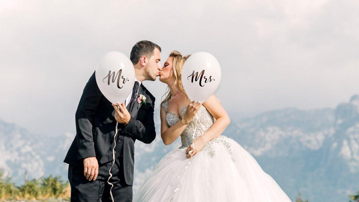 結婚で幸せなイメージ